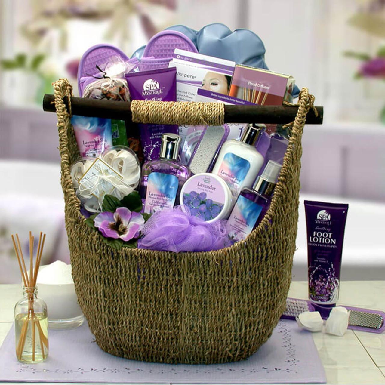 The Ultimate Lavender Bath & Body Tote